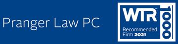 World Trademark Review Logo for Pranger Law PC